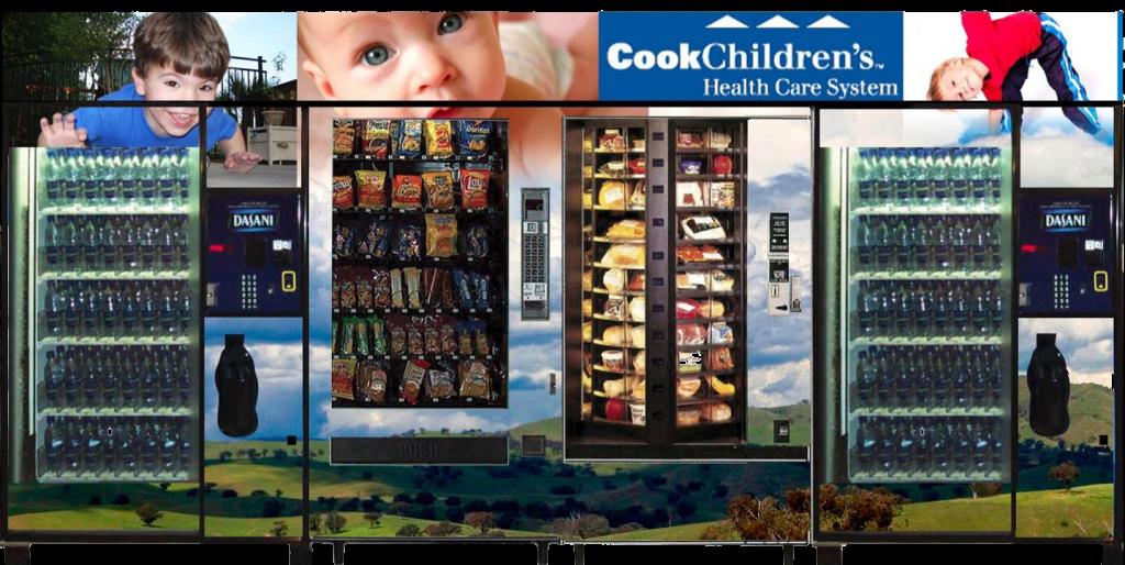 Dallas Fort Worth; DFW vending machines