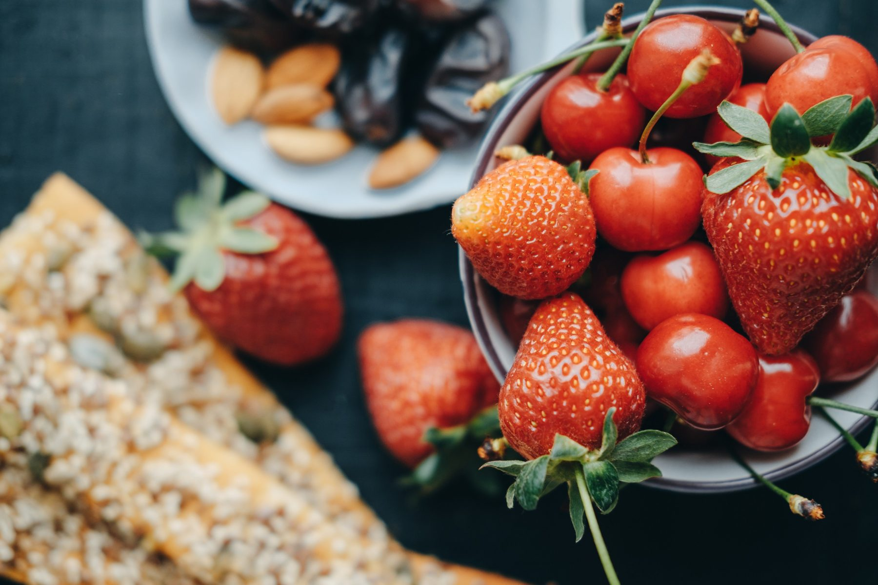 Healthy snack options in Dallas Fort worth
