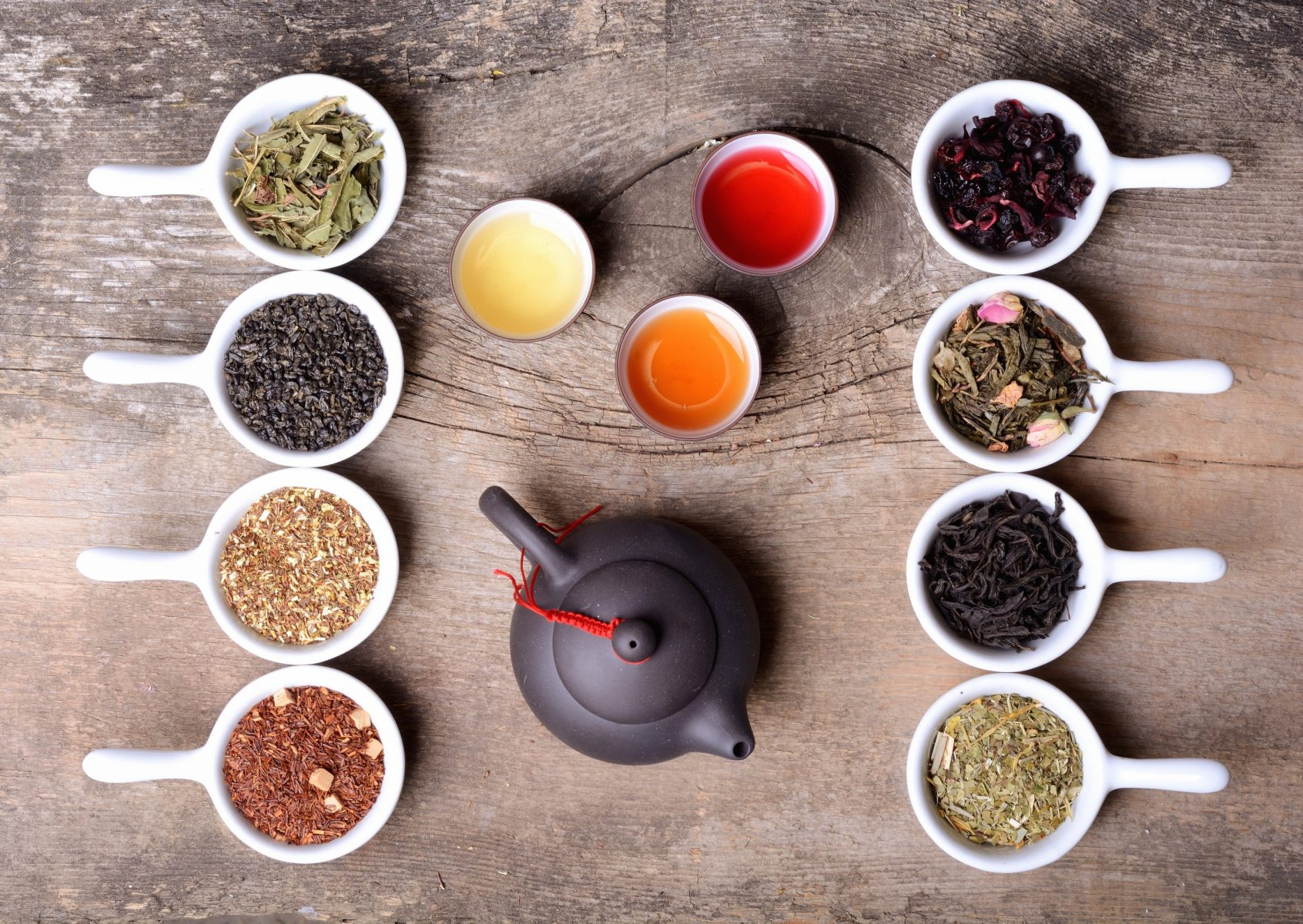 herbal tea options in dallas fort worth